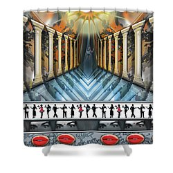 Cigar Randy's Umbrage   Shower Curtain