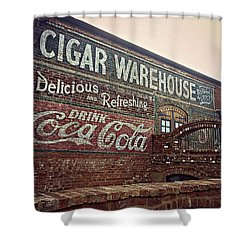 Cigar Warehouse Greenville Sc Shower Curtain