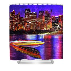 Cigarette Calm Shower Curtain