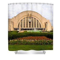 Cincinnati Museum Center At Union Terminal Shower Curtain by Paul Velgos