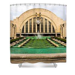 Cincinnati Museum Center Picture Shower Curtain by Paul Velgos