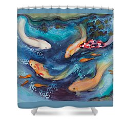 Cindy's Treasures Shower Curtain by Bonnie Rabert