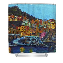 Cinque Terre Shower Curtain