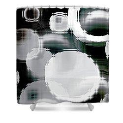 Circle Blocks Shower Curtain