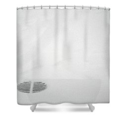 Shower Curtain featuring the photograph Circle Stripes by Kenneth Campbell