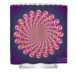 Circles Circus Shower Curtain