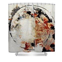 Circles Of War Shower Curtain