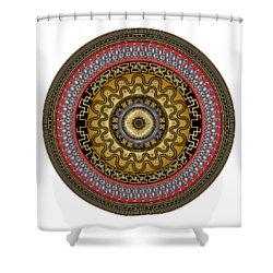 Circularium No. 2644 Shower Curtain