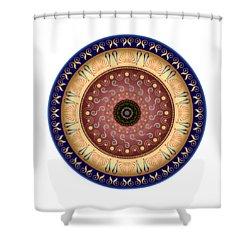 Circularium No 2647 Shower Curtain