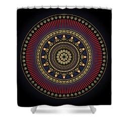 Circularium No 2649 Shower Curtain