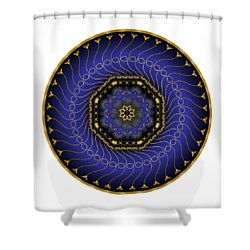 Circularium No 2714 Shower Curtain