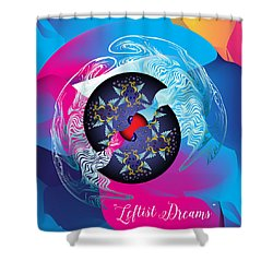Circularium No 2719 Shower Curtain