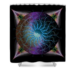 Circulariun No 2631 Shower Curtain