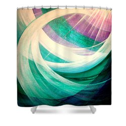 Circulation Shower Curtain
