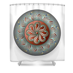 Circulosity No 2922 Shower Curtain
