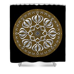 Circulosity No 2923 Shower Curtain