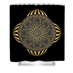 Circulosity No 2930 Shower Curtain