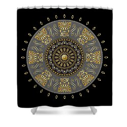 Circulosity No 3013 Shower Curtain