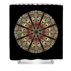 Circulosity No 3010 Shower Curtain