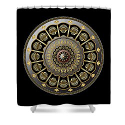 Circulosity No 3019 Shower Curtain
