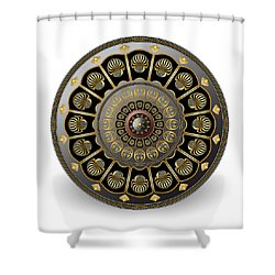 Circulosity No 3020 Shower Curtain