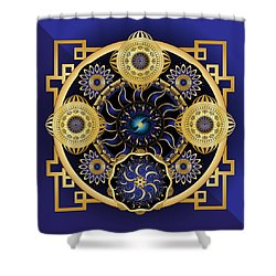 Circulosity No 3128 Shower Curtain