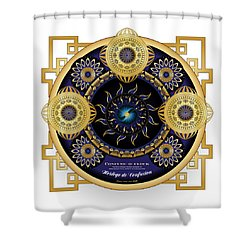 Circulosity No 3130 Shower Curtain
