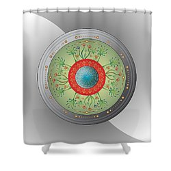 Circulosity No 3265 Shower Curtain
