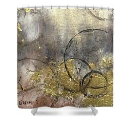 Circumnavigate II Shower Curtain