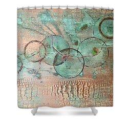 Circumnavigate Shower Curtain
