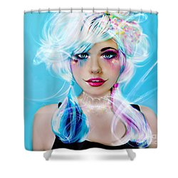 Circus Mind Shower Curtain