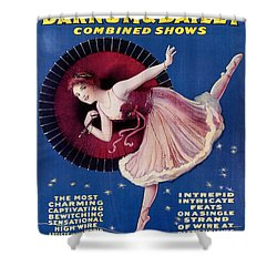 Circus Poster, C1920 Shower Curtain by Granger