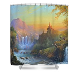 Citadel Of The Elves Shower Curtain