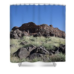 Citadel Pueblo Shower Curtain