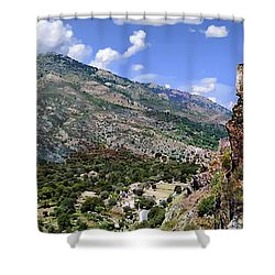 Citadelle De Corte Shower Curtain