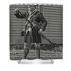 Shower Curtain featuring the photograph Citizen Soldier by Stephen Flint