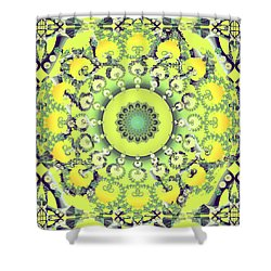 Citrus Shoe Dance Shower Curtain