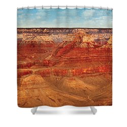 City - Arizona - The Grand Canyon Shower Curtain by Mike Savad