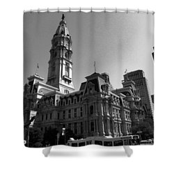 City 2 Shower Curtain
