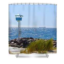 City Beach, Western Australia Shower Curtain