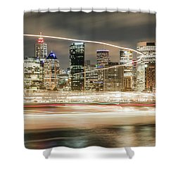 City Blur Shower Curtain