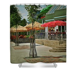 City Cafe Shower Curtain