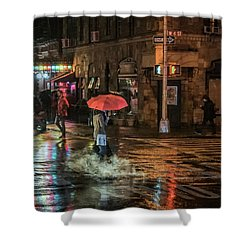 City Colors Shower Curtain by Jeffrey Friedkin