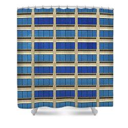 City Grid Shower Curtain