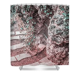 City Grotto Shower Curtain