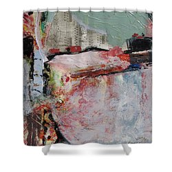 City Hide Out Shower Curtain