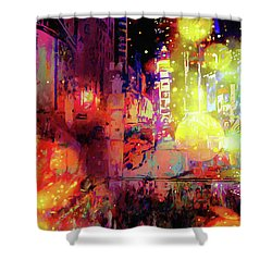 City Nights Shower Curtain