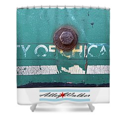 City Of Chi 1 Shower Curtain
