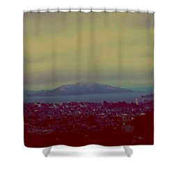 City Of Dream Shower Curtain by Dr Loifer Vladimir