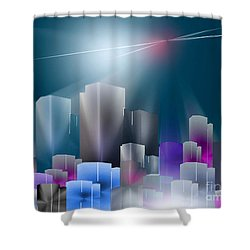 City Of Light Shower Curtain